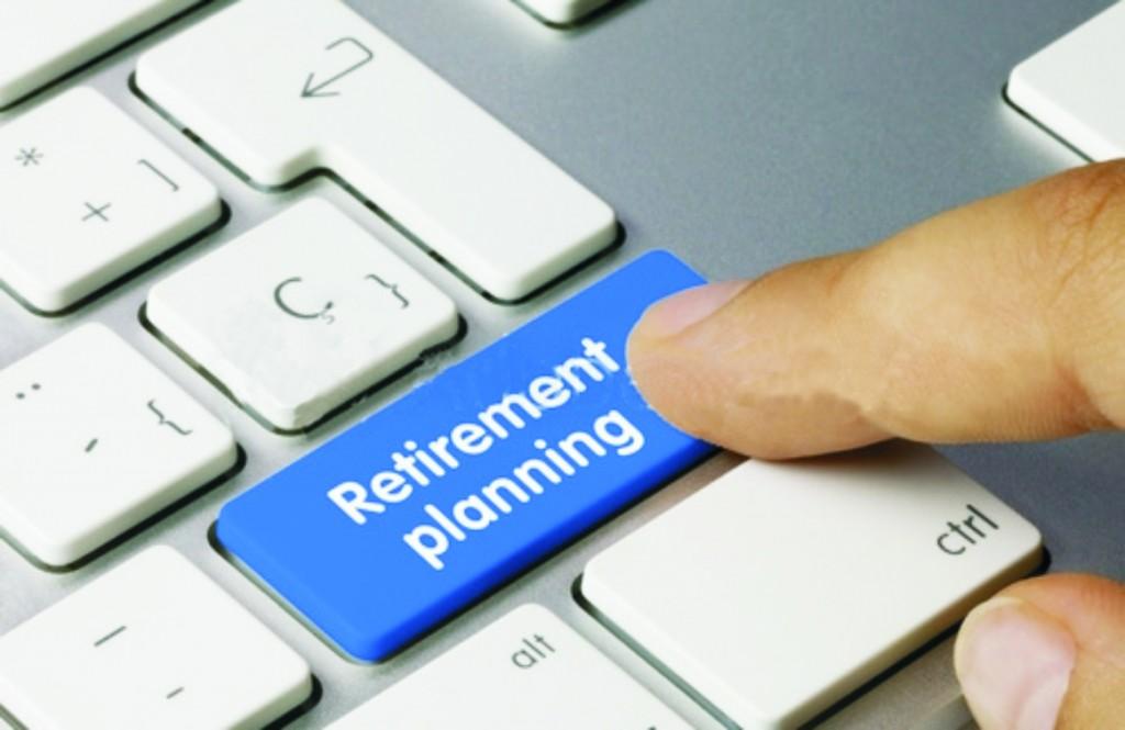 Retirement Planning keyboard